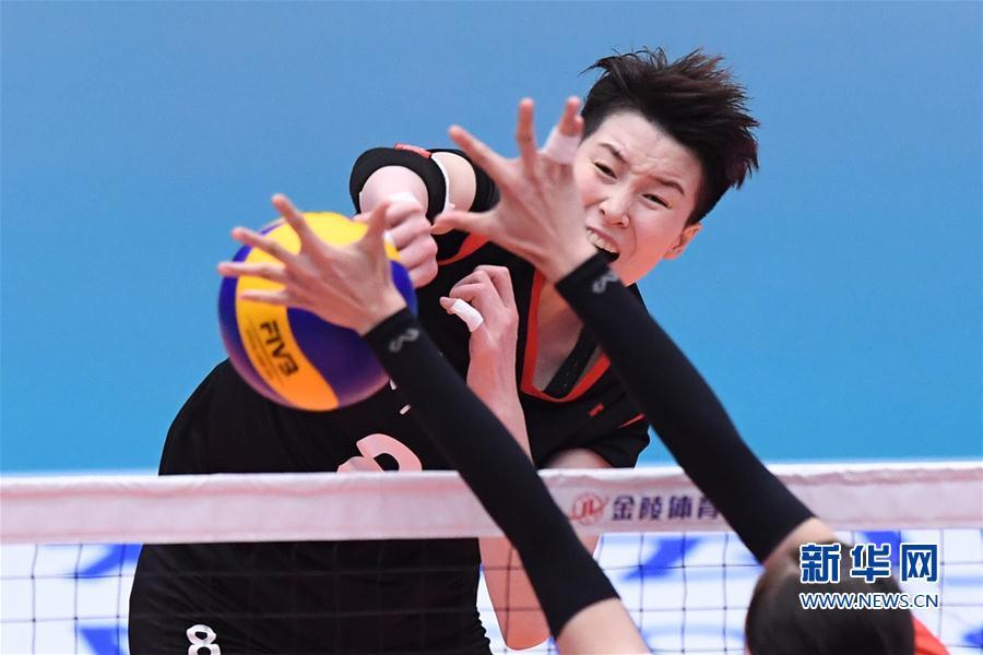 (全运会)(1)排球——女子成年组:浙江胜福建