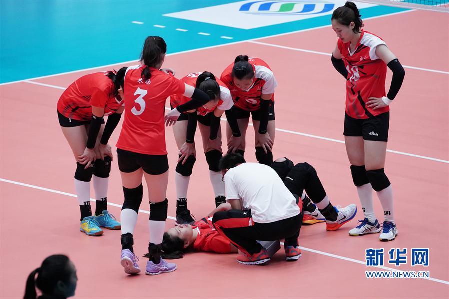 (全运会)(3)排球——女子成年组:浙江胜福建