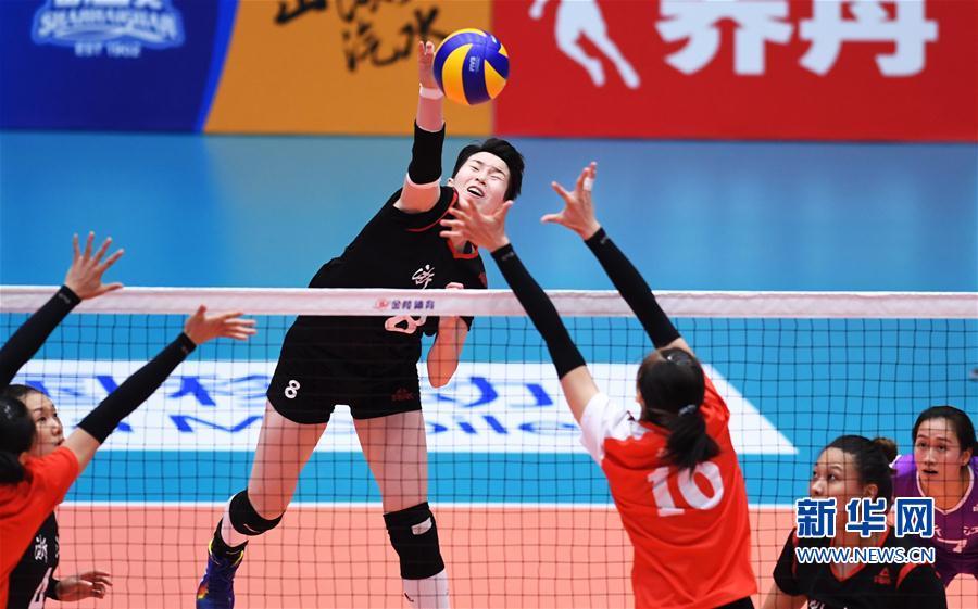 (全运会)(5)排球——女子成年组:浙江胜福建