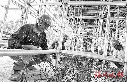 旗山湖项目预计明年7月完工