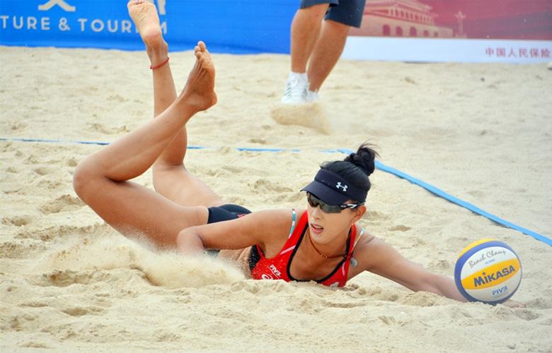【组图】2019年世界沙滩排球巡回赛晋江站开赛