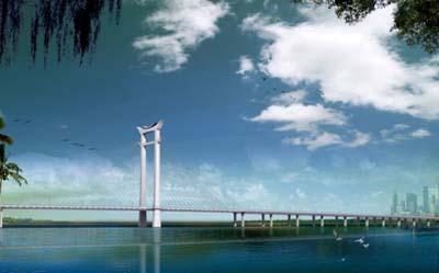 晋江大桥效果图