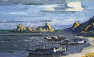 當畫家遇上千年海港