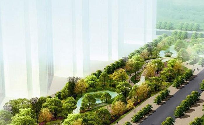 """厦门将建成首个""""海绵公园"""" 人工河流专门吸雨水"""