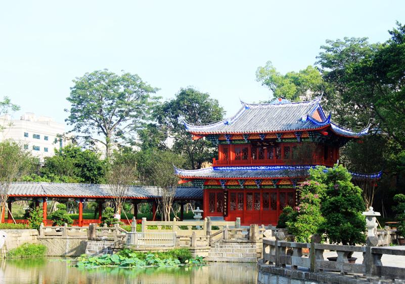 愛上福州城:南公園開園 300年皇家園林現新顏