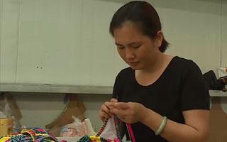 廈門:珠繡手藝聲名遠播 帶領眾人脫貧致富