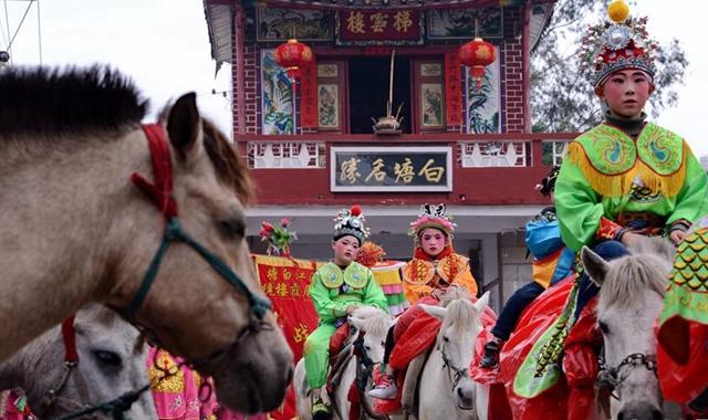 福建莆田:馬背上的民俗巡遊