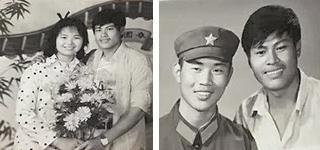 两张旧照片 武汉退伍老兵惠安寻恩人