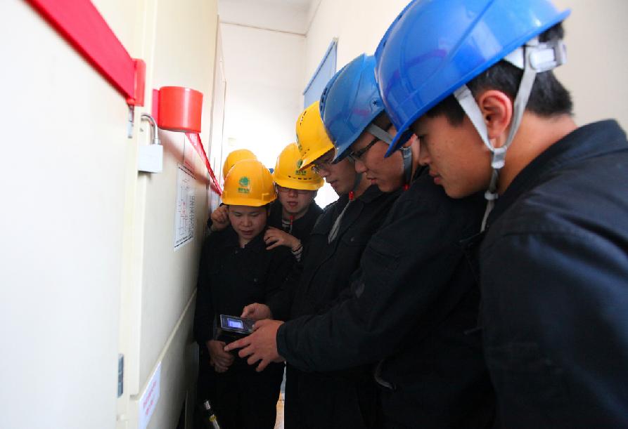 三明供电:完成三明地区带电检测技能培训
