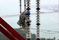 厦门供电:跨海巡线 保障电网安全