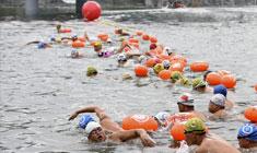 """""""太姥山杯""""国际公开水域游泳锦标赛在福建举行"""