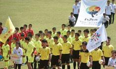 足球——福州举办青少年校园足球冠军赛暨校园足球文化节