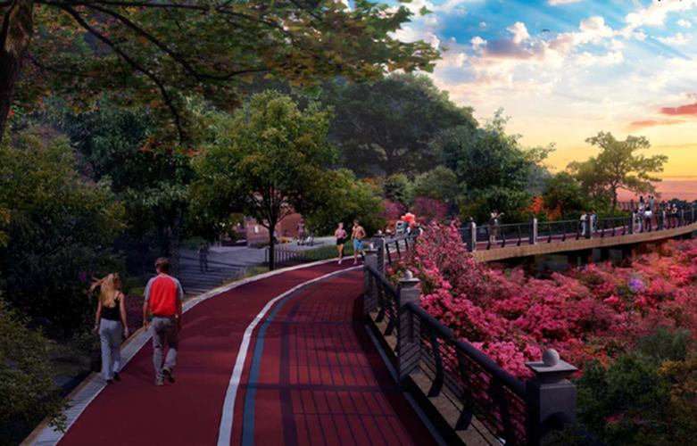 福州馬尾天馬山生態公園動建 新建1.35公裏步道