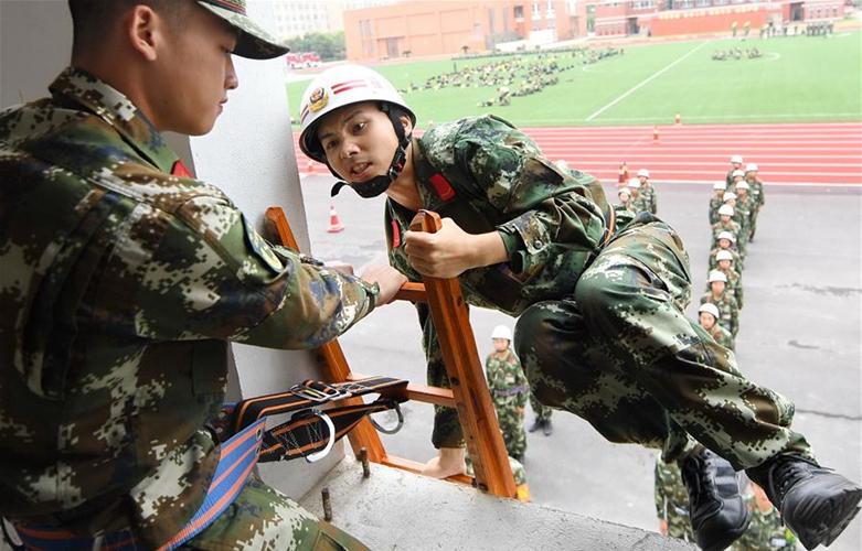 福建:推進新訓工作 提升新兵素質
