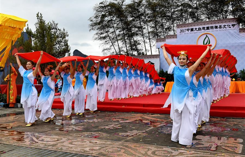 2017中國大紅袍國際禪茶文化節在武夷山舉行