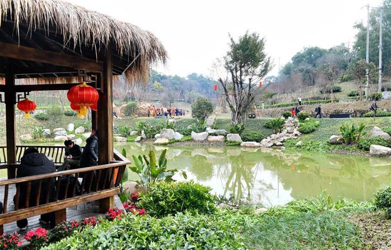 福州12座生態公園同時開園