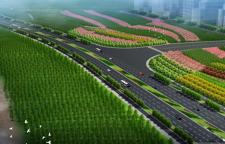 福州滨海新城打造13.8公里绿色屏障