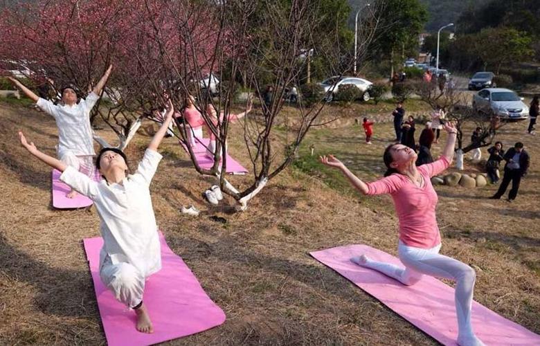 醫護人員的瑜伽