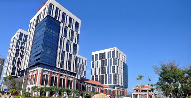 集美软件园三期崭新的办公楼。新华网发(集美区委宣传部供图)