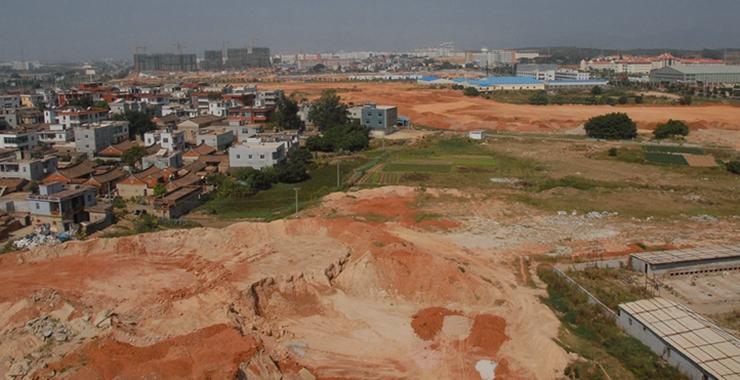 厦门市翔安区新马路原貌(摄于2013年)。新华网发(张天骄 摄)