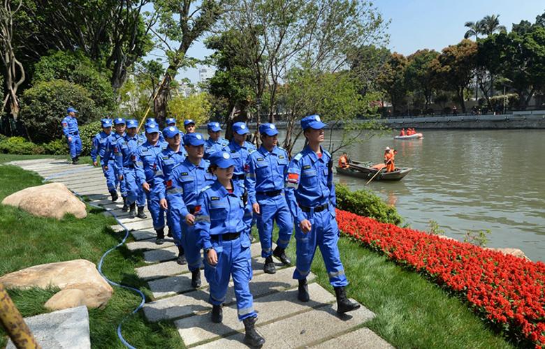 榕组建城区水系巡查支队 护河专员紧盯偷排混排