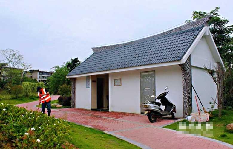 福州高新区新建改造城乡公厕14座 目前已全部开放