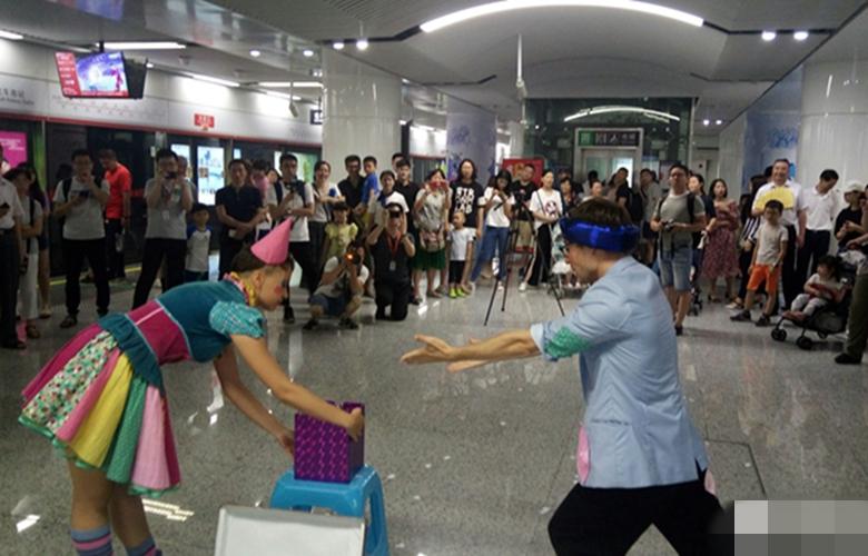 """福州启动""""5·19""""系列活动 旅游元素亮相地铁站"""