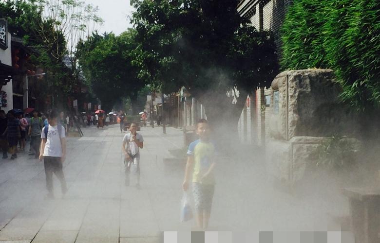 福州水雾降温