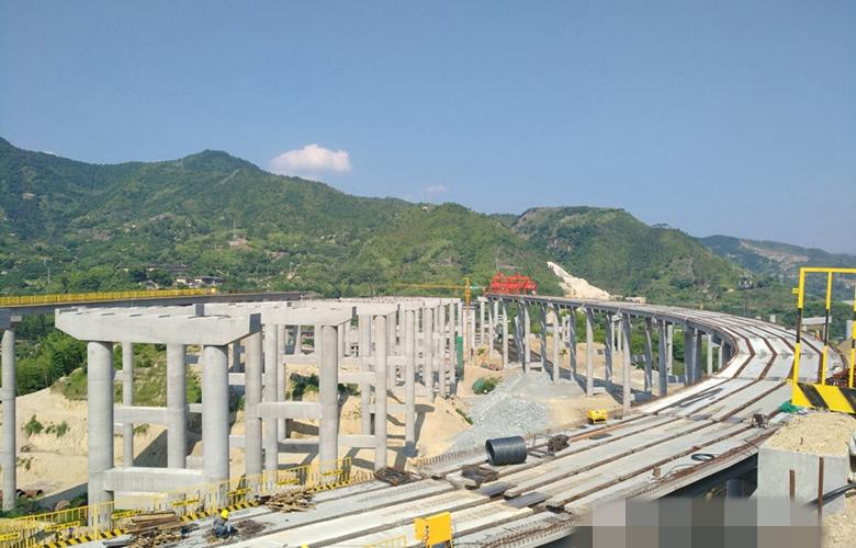 莆炎高速福州段建设进度超预期 2020年建成通车