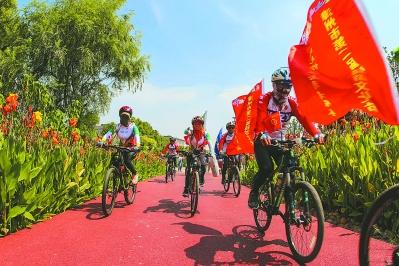 漳州启动第二届骑游文化节公益活动