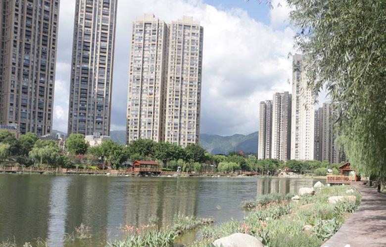 福州琴亭湖公園完成景觀改造工作 月底重新開放