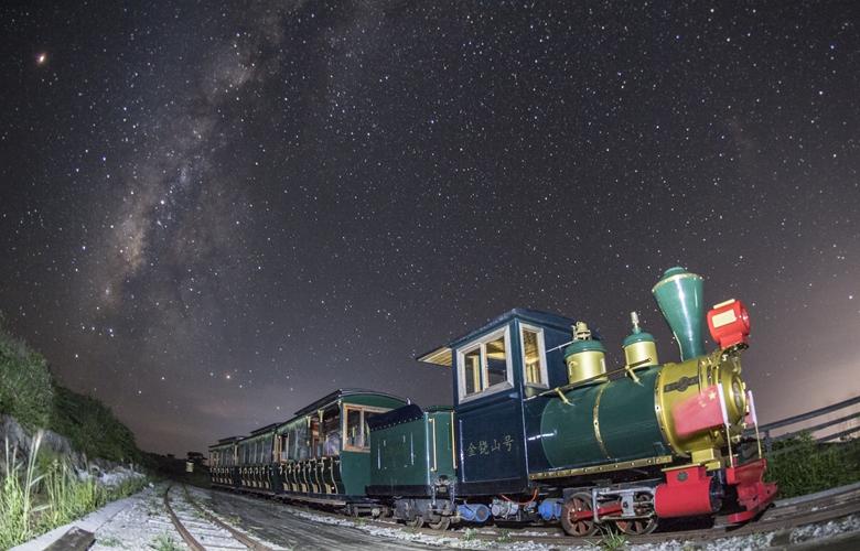 福建建寧:銀河伴火車