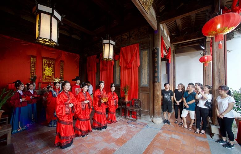 福建民俗博物馆举行七夕主题活动