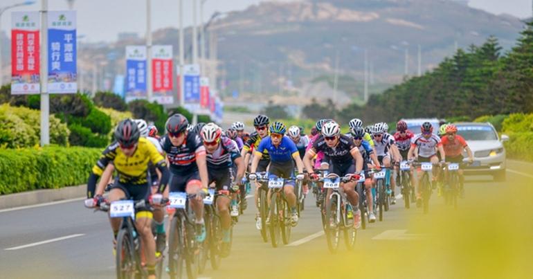平潭舉行第五屆兩岸職工自行車賽