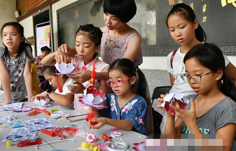 福州:中秋傳統文化習俗體驗受熱捧