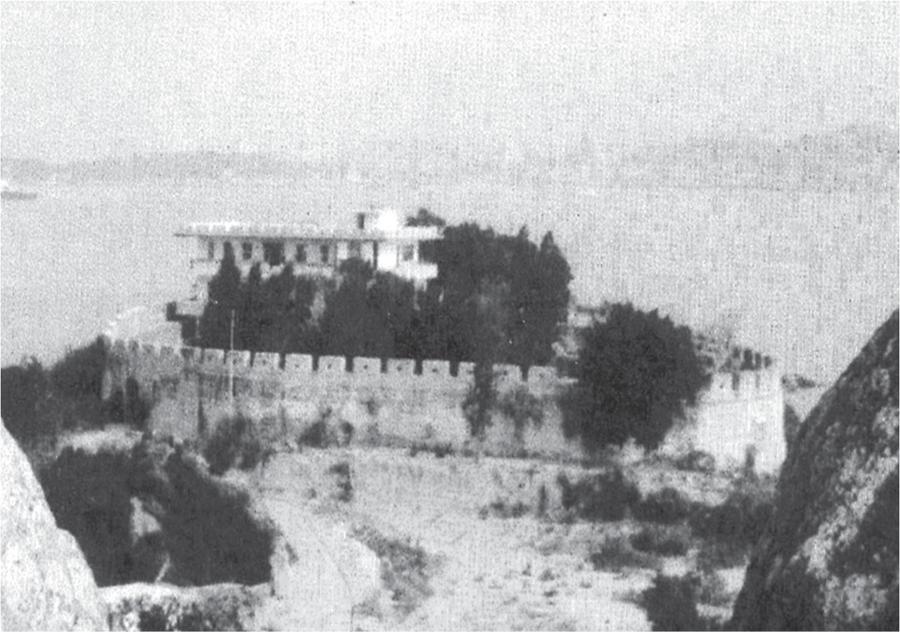 南炮台旧貌