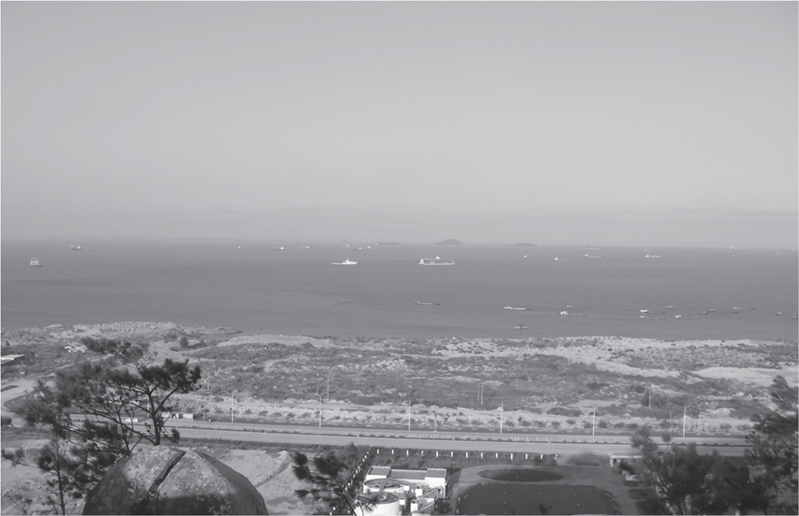 黄金海岸旧貌