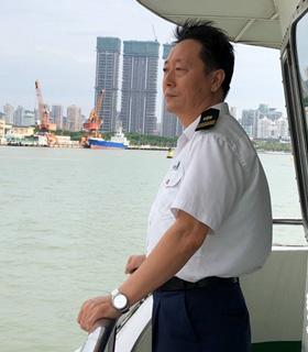 厦鼓老船长见证鹭江两岸40年芳华变迁
