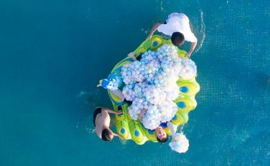 漳州港水上趣味比赛迎国庆