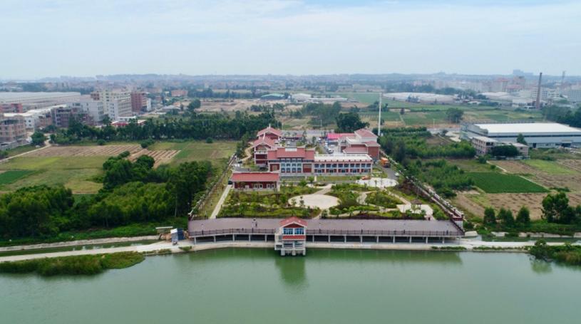 晉江龍湖及晉江龍湖取水泵站(資料圖)