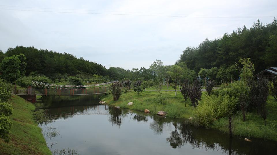 龍岩長汀縣汀江國家濕地公園(資料圖)