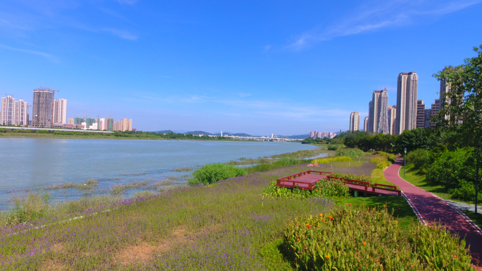 泉州北濱江公園晉江下遊生態水係整治工程(資料圖)