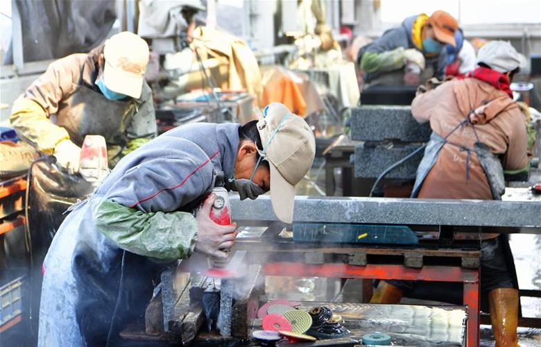 福建惠安:石材加工 远销海外
