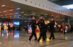 福州警方全力護航春運安保