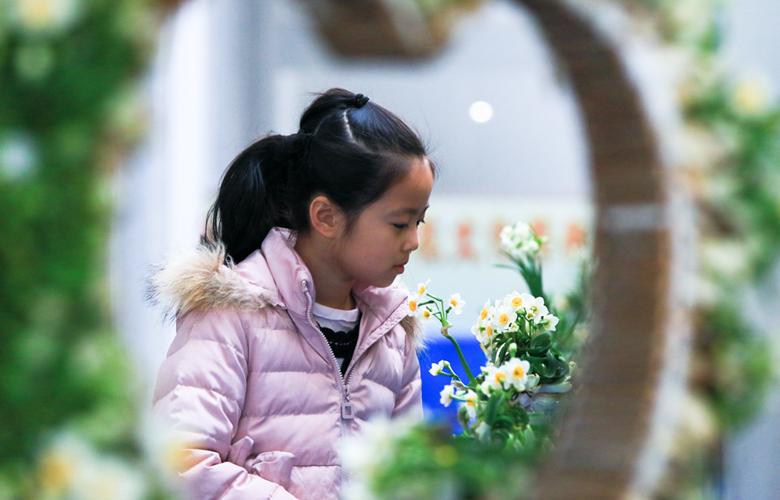 福建漳州:逛花展 迎新年