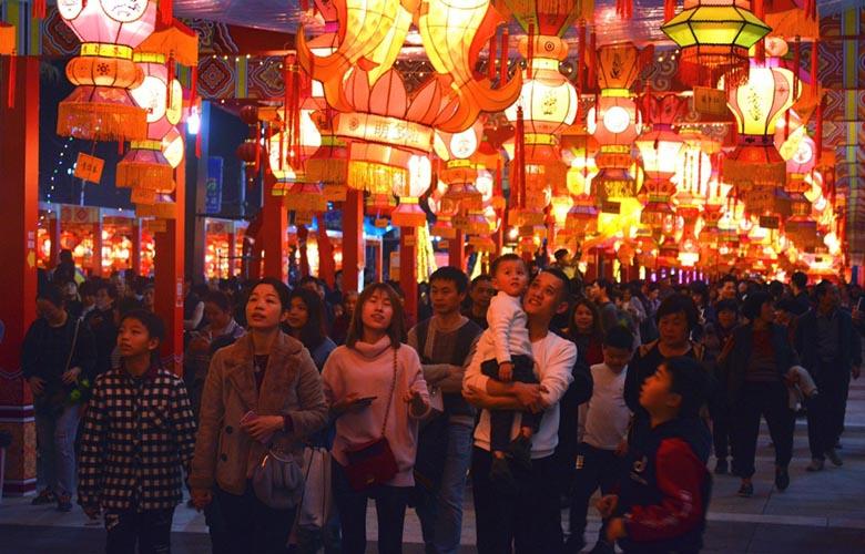 福建泉州:元宵夜 燈如晝