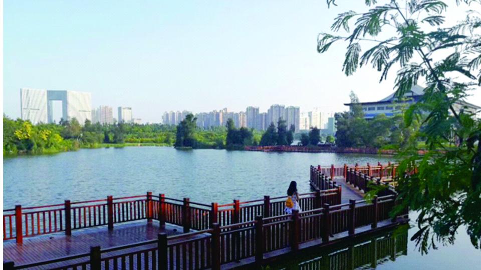 五緣灣濕地公園(資料圖)