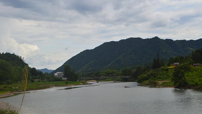 建寧縣鴛鴦湖(資料圖)