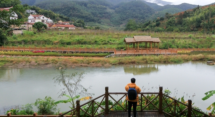 漳州市長泰縣馬洋溪後坊村河段(資料圖)