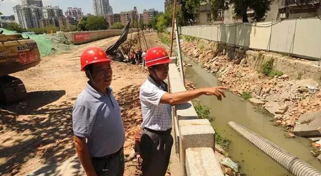 晉安區琴亭河拓寬施工(資料圖)